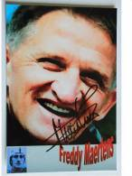 Cyclisme - Freddy MAERTENS - Dédicace - Hand Signed - Autographe Authentique  - - Cycling