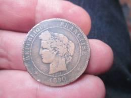10 Centimes CERES 1890- TB VOIR PHOTOS - D. 10 Centimes