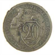 RUSSIA - 20 KOPEKS 1932 - Russia