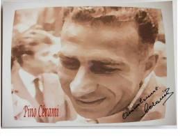 CARTE - Pino  CERAMI  - Dédicace - Hand Signed - Autographe Authentique  - - Cyclisme