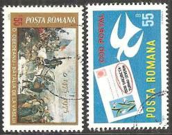 Romania 1975 Usato - Mi.3254;3261  Yv.2892/93 - 1948-.... Republiken