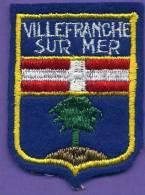 Autres Collections - Ecusson - Villefranche Sur Mer - Scudetti In Tela