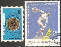Romania 1974/5 Usato - Mi.3240;3263  Yv.2878;2898 - 1948-.... Republiken