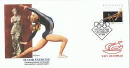 JO 177 - AUSTRALIE FDC Gymnastique - Jeux Olympiques 1988 Séoul - Summer 1988: Seoul