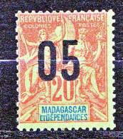 MADAGASCAR TYPE GROUPE SURCHARGE N� 112 NEUF** TTB