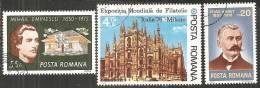 Romania 1975/6 Usato - Mi.3262;3349;3381  Yv.2907;2963;2991 - 1948-.... Republiken