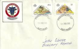 Lettre Ayant Circulée (interieur) Principauté De HUTT RIVER  (Western-Australia) - Timbres