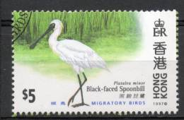 Chine : (450) 1997 Hong Kong - Les Oiseaux Migrateurs SG887(o) - 1997-... Sonderverwaltungszone Der China