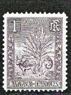 MADAGASCAR  TYPE ZEBU N� 63  NEUF* TTB