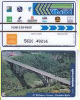 VIACARD 10.000 10000 Lire Us. VIADOTTO AGLIO - Unclassified