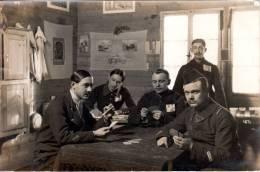 Camp De Prisonniers D'Ohrdruf 1ere Guerre Mondiale 1914-1918 Prisonniers Jouant Aux Cartes - Guerre 1914-18