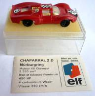 VOITURE - AUTOMOBILE -  CHAMPION - FORMULE 1 -  PUBLICITAIRE ELF - CHAPARRAL 2 D N�rburgring