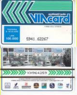 VIACARD 100.000 100000 Lire Us. CASELLO - Unclassified