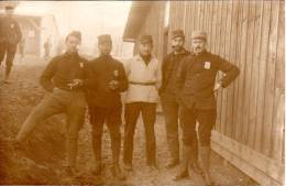 Camp De Prisonniers D'Ohrdruf 1ere Guerre Mondiale 1914-1918 Groupe De Prisonniers - Guerre 1914-18