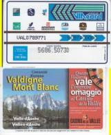 VIACARD 100.000 100000 Lire Us. VALDIGNE MONT BLANC - Unclassified