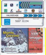 VIACARD 100.000 100000 Lire Us.  MONTE CERVINO - Unclassified