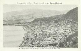 Martinique. St Pierre Après L´éruption. Publicité Rhum Chauvet. Compagnie Des Antilles - Antillas