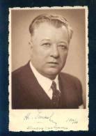 A1176 / Burgas Bourgas - Photo - Regional Director Of Burgas Dr. N. Rashkov 1936 -1938 Autograph - Bulgaria Bulgarie - Bulgaria