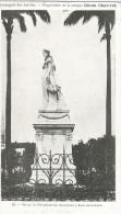 Statue De L´impératrice Joséphine. Publicité Rhum Chauvet. Compagnie Des Antilles. Martinique. Fort De France. - Fort De France