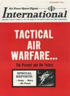 Air Force / Space Digest - INTERNATIONAL - DECEMBER 1965 - Vietnam - Jeep - Missiles - Avions - Hélicopters     (3281) - Revistas & Periódicos