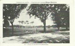 Martinique. Savane De Fort De France. Publicité Rhum Chauvet. Compagnie Des Antilles - Antillas