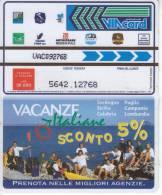 VIACARD 50.000 50000 Lire Us.VACANZE ITALIANE - Unclassified