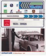 VIACARD 50.000 50000 Lire Us.A4 1961 - Unclassified