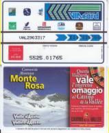VIACARD 50.000 50000 Lire Us.MONTE ROSA - Unclassified