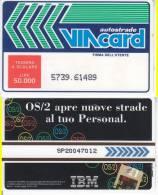 VIACARD 50.000 50000 Lire Us.OS/2 IBM - Unclassified