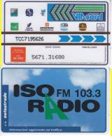 VIACARD 50.000 50000 Lire Us. ISORADIO - Other Collections