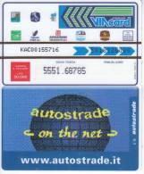 VIACARD 50.000 50000 Lire Us. AUTOSTRADE ON THE NET - Non Classificati