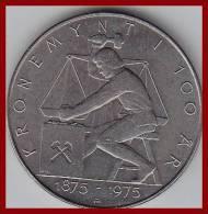 5 Kronen  1975  100 år Kronemynten - Norwegen