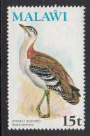 Malawi MNH Scott #239 15t Stanley Bustard - Birds - Malawi (1964-...)
