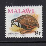 Malawi MNH Scott #237 8t Harlequin Quail - Birds - Malawi (1964-...)