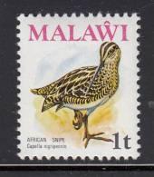 Malawi MNH Scott #233 1t African Snipe - Birds - Malawi (1964-...)