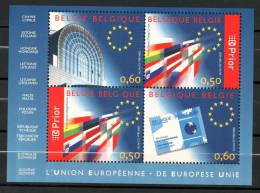 Bloc 110 Union Européenne Neuf SANS Charnière Moins Cher Que Prix Poste - Blocks & Kleinbögen 1962-....