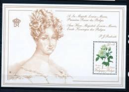 Bloc 63 Promotion De La Philatélie  Reine Louise-Marie Neuf SANS Charnière Moins Cher Que Prix Poste - Blocks & Kleinbögen 1962-....