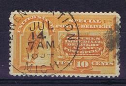 USA: Express Scott E 3 Used 1893 - Expres & Aangetekend