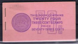 USA: Booklet  Sc  807A 4x. 1938-54  , MNH, - Boekjes