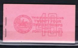 USA: Booklet  BK103 Sc  806B 4x. 1938  , MNH, - ...-1940