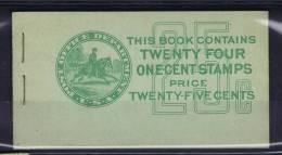 USA: Booklet  BK75  Sc  632A  2x. 1927  , MNH, - ...-1940
