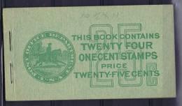 USA: Booklet  BK75  Sc  632A  2x. 1927  , MNH, - Boekjes