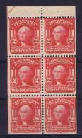 USA: Booklet  Pane 1903 319 G, MH/*, Bad Gum - Boekjes