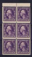 USA: Booklet  Pane   501b , MH/* - ...-1940