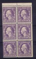 USA: Booklet  Pane   502b , MH/* - Boekjes