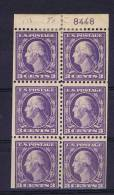 USA: Booklet  Pane   502b , MH/* With Plate Number - Boekjes