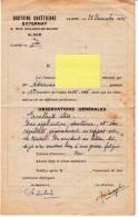 Bulletin Scolaire - Doctrine Chrétienne D´Alger - Année 1945-1946 - Diploma & School Reports