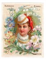 Chromo D´almanach Rimmel 1883, Hongrie, Hongoise - Kaufmanns- Und Zigarettenbilder