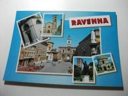 RAVENNA  Multivedute 4 Vedutine Su Una Grande - Ravenna