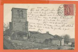 Z081, Cezay, L'Eglise, Circulée 1905 - Otros Municipios
